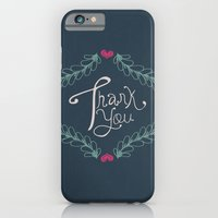 iPhone & iPod Case featuring Thank you! by Njeridesigns