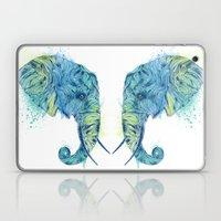 Elephant Head II Laptop & iPad Skin