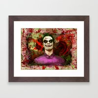 Fassbender as...The Joker! (final) Framed Art Print