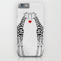 Giraffe Love iPhone 6 Slim Case