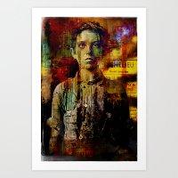 Paperboy Art Print