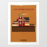 Moonrise Kingdom Directed by Wes Anderson Art Print