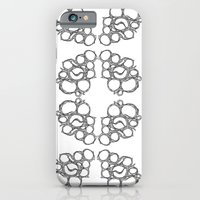 iPhone & iPod Case featuring Honeycombs 2 by Static44