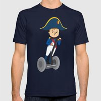 Napoleon Segways the Alps Mens Fitted Tee Navy SMALL