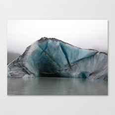 Valdez Glacier Canvas Print