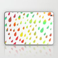 IT RAINED ALL DAY- COLOR Laptop & iPad Skin