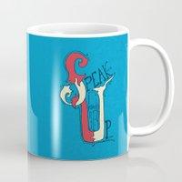 Speak Up! (Proverbs 31:9) Mug