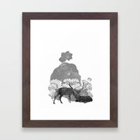 Tenderness  Framed Art Print