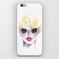 Blonde Chic iPhone & iPod Skin