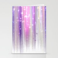 lights curtain a Stationery Cards