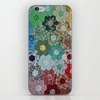 patchwork-design iPhone & iPod Skin