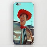 Woody rolls again! iPhone & iPod Skin