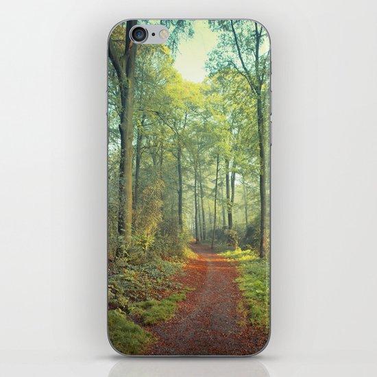 Morning Walk iPhone & iPod Skin