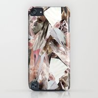 iPod Touch Cases featuring Arnsdorf SS11 Crystal Pattern by RoAndCo