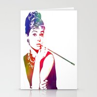 Audrey Hepburn Breakfast… Stationery Cards