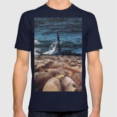 Blue Monday Mens Fitted Tee Navy SMALL