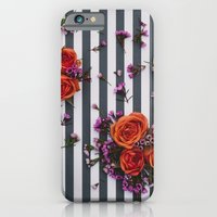 Botanical Stripes  iPhone 6 Slim Case