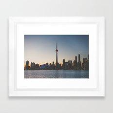 Toronto II Framed Art Print