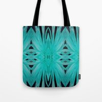 Flower Path Tote Bag