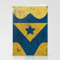 Booster Gold Stationery Cards