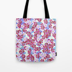 Muster Blümchen 1 - pattern floral 1 Tote Bag