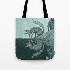 'Tell Me It's Real' Tote Bag