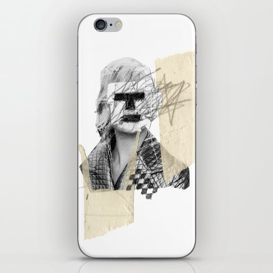 Kate Moss iPhone & iPod Skin
