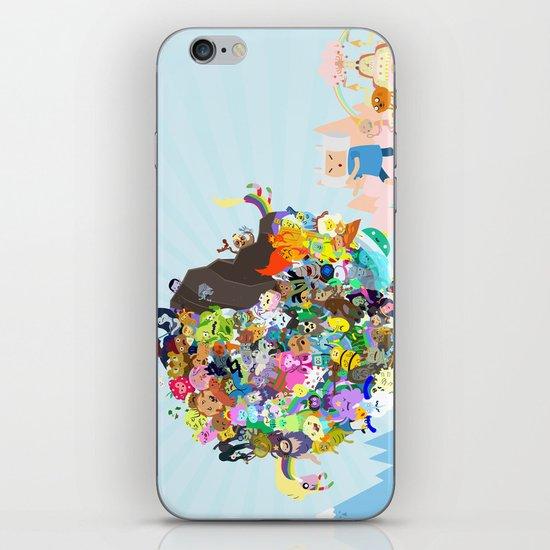 Adventure Time - Land of Ooo Katamari iPhone & iPod Skin
