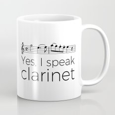 I speak clarinet Mug