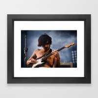 Biffy Clyro ANALOG zine Framed Art Print