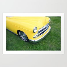Collection series-Yellow Art Print