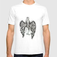 Guardian Mens Fitted Tee White SMALL