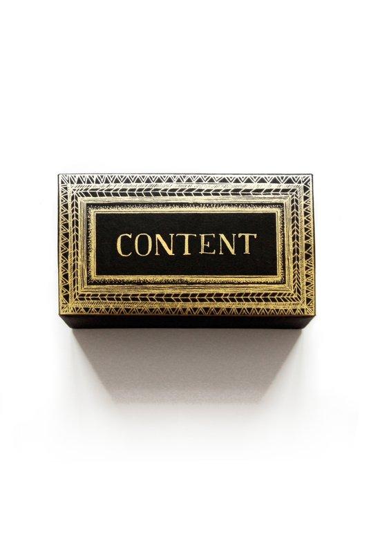 Content frame box Art Print