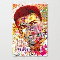 Ali Portrait Canvas Print