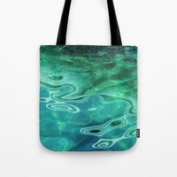 Water / H2O #67 (Water Abstract) Tote Bag
