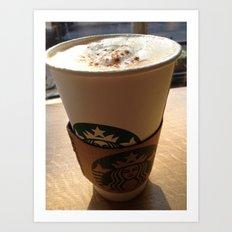 Starbucks Art Print