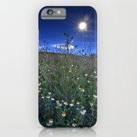 Moonlight Over Daisies iPhone 6 Slim Case