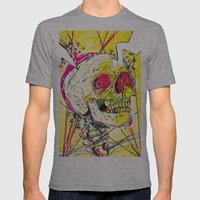 Ain't No Grave Mens Fitted Tee Athletic Grey SMALL