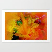 Flowers From My Heart To… Art Print