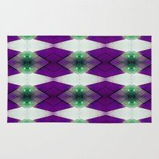 Purple Diamonds Rug