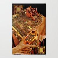 Tesrawa Tapestry Canvas Print