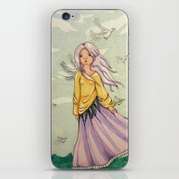We Angels Don't Fly iPhone & iPod Skin