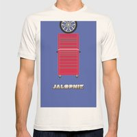 Essence of Jalopnik Mens Fitted Tee Natural SMALL