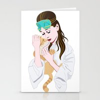 Holly Golightly's Cat / … Stationery Cards