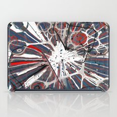 Abstract Duck Face iPad Case