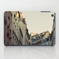 Pastel Paris iPad Case