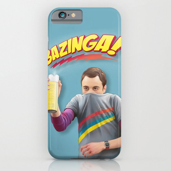 Sheldon  - BAZINGA! iPhone & iPod Case