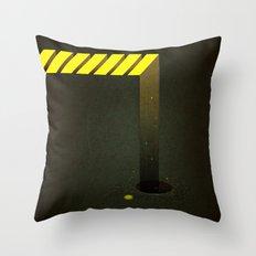 Asphalt: Facebook Shapes & Statuses Throw Pillow