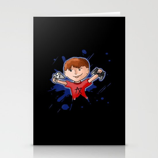 Gamer Stationery Card