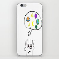 space dreaming iPhone & iPod Skin